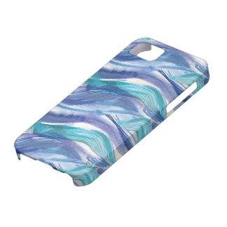 Watercolor Ocean Waves iPhone Case iPhone 5 Case