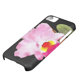 Watercolor of Pink Cattleya iPhone 5C Covers