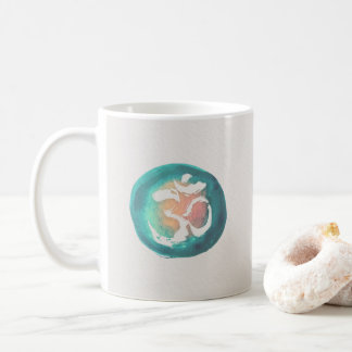Watercolor Om Symbol Yoga Mediation instructor Coffee Mug