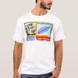 Watercolor Ottumwa Art 1940 WPA T-Shirt