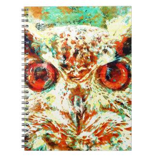 Watercolor Owl Notebook