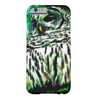 Watercolor Owl Picture iPhone 6 Case