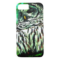 Watercolor Owl Picture iPhone 7 Case