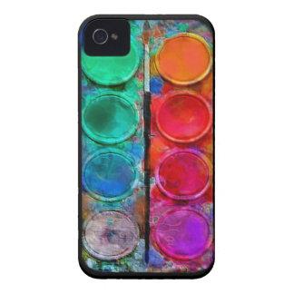 Watercolor Paint Pallette 4 4S iPhone Case iPhone 4 Case-Mate Cases
