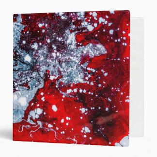 watercolor paint splatter art trendy 3 ring binder