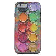 Watercolor Paintbox iPhone 6 Case
