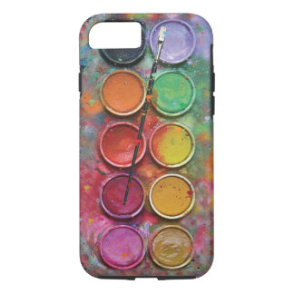 Watercolor Paintbox iPhone 7 Case