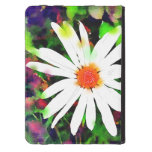 Watercolor Painted Daisy Kindle Case