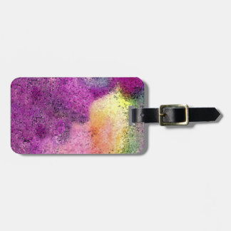 Watercolor painted Rice Paper Tags For Luggage
