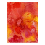 Watercolor painting background. postcard