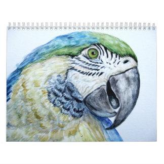 Watercolor Painting Calendar