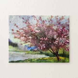 Watercolor Painting Landscape Jigsaw Puzzles