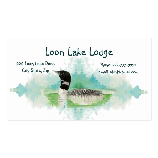 700 cabin business cards and cabin business card for Watercolor painting templates free