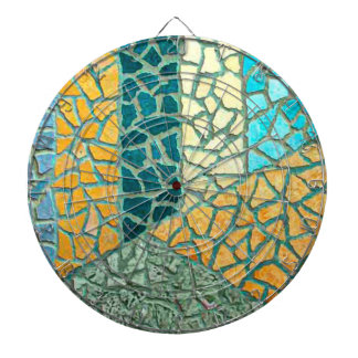 Watercolor Painting Stone Mosaic + your ideas Dartboard