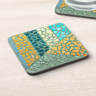 Watercolor Painting Stone Mosaic + your ideas Drink Coaster