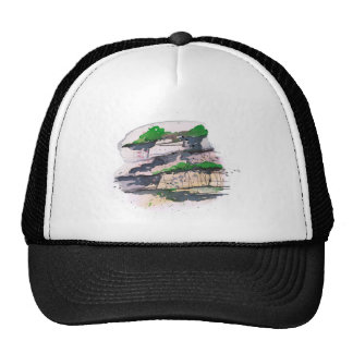 Watercolor Painting Trucker Hat