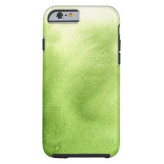 watercolor paints on a rough texture paper tough iPhone 6 case