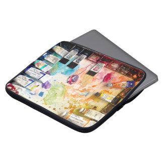 Watercolor Palette Laptop Sleeve