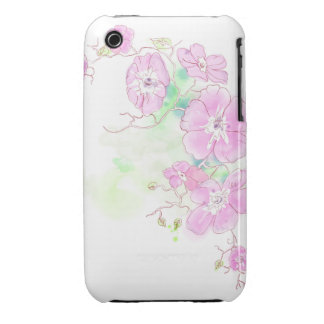Watercolor Pansies, iPhone case