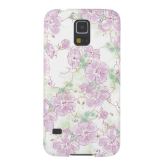 Watercolor Pansies Samsung Galaxy S5 Case