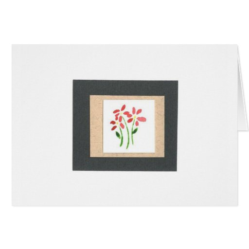 Watercolor Paper Collage Greeting Cards