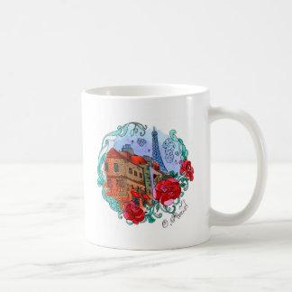 Watercolor Paris Coffee Mug