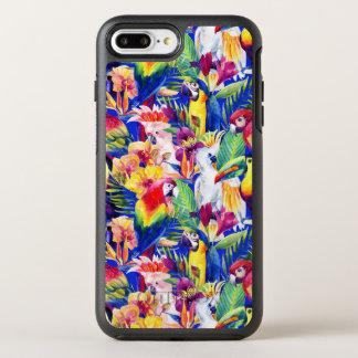 Watercolor Parrots OtterBox Symmetry iPhone 8 Plus/7 Plus Case