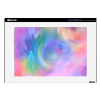 "Watercolor Pastel Rainbow 15"" Laptop Skins"