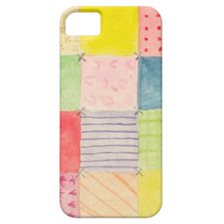 Watercolor Patchwork iPhone 5 Case