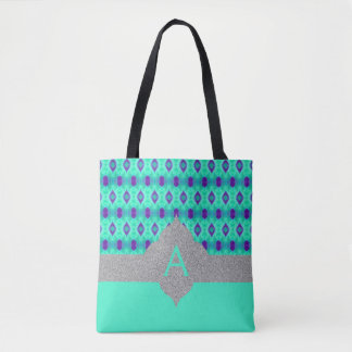 Watercolor Pattern IIII Tote Bag