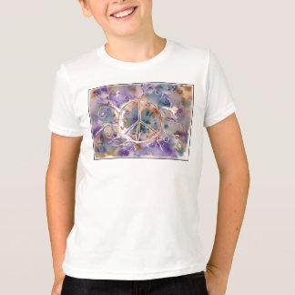 Watercolor Peace Sign T-Shirt