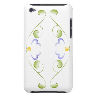Watercolor Periwinkle Blooms Barely There iPod Case