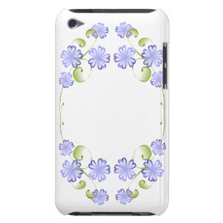 Watercolor Periwinkle Blooms iPod Case-Mate Cases