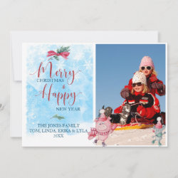 Holiday Card with Funny Halloween Mickey Mouse as Stitch design