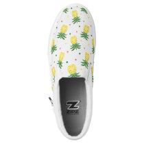watercolor pineapples pattern Slip-On sneakers