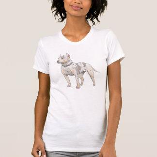 Watercolor Pit Bull T-Shirt