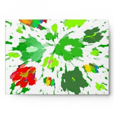 celestesheffey Watercolor Pop Art Floral Envelope