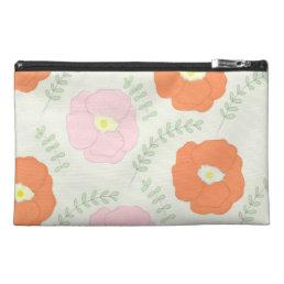 Watercolor Poppy Flower Bagettes Bag