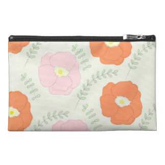 Watercolor Poppy Flower Bagettes Bag