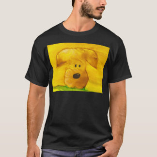 Watercolor Puppy T-shitrt T-Shirt