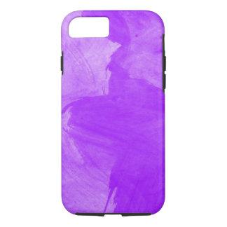 Watercolor Purple Brush Strokes iPhone 8/7 Case