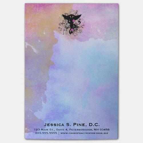 Watercolor {purples} Chiropractic Post-it® Notes