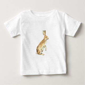 Watercolor Rabbit Baby T-Shirt