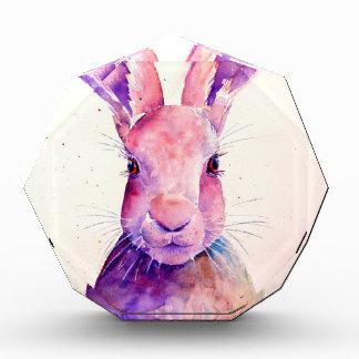 Watercolor Rabbit Hare Portrait Acrylic Award
