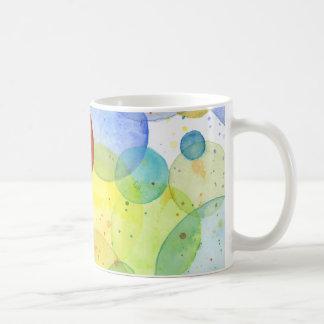 Watercolor Rainbow Circles Mug