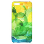 watercolor rainbow iPhone 5C cases