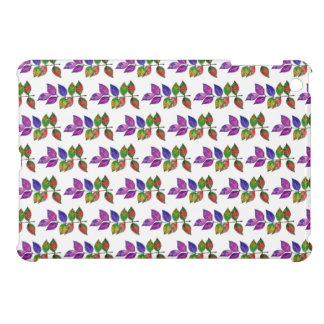 Watercolor Rainbow Leaves Cover For The iPad Mini