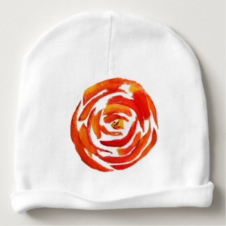 Watercolor Red and Color Baby Beanie