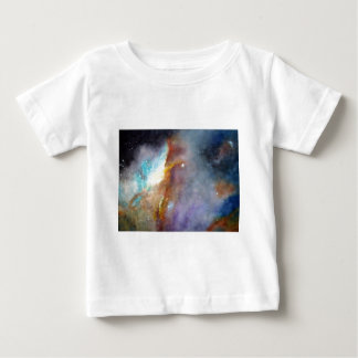 Watercolor rendering of one of the great galaxies. baby T-Shirt