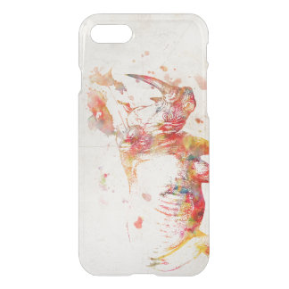 Watercolor Rhino Painting iPhone 7 Case